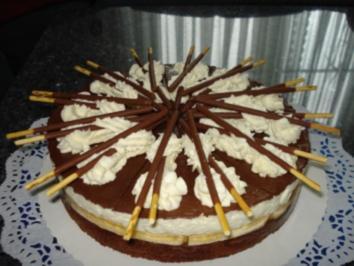 Rezept mit Bild: Mikado-Torte