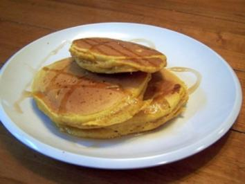 Amerikanische Pancakes