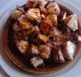 ( Galicien ) Pulpo a la gallega