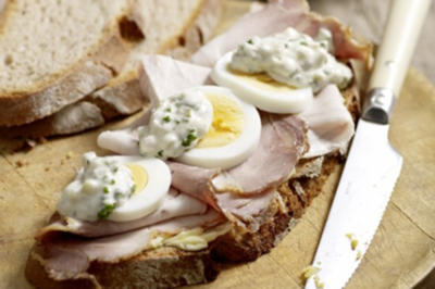 Bratenbrot mit Remoulade