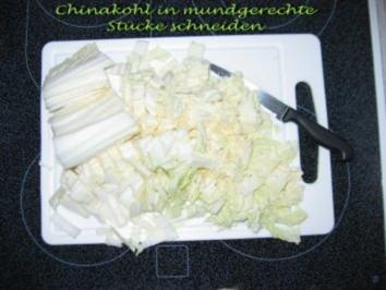 Rezept: Chinakohlsalat mit Mandarinen Bild Nr. 2