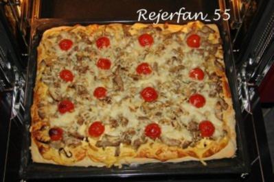 180 pizza mit sauce hollandaise rezepte. Black Bedroom Furniture Sets. Home Design Ideas