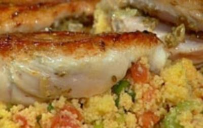 Tandoori-Hhnchen mit Couscous-Salat