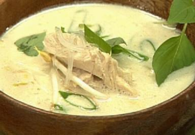 Thai-Nudelsuppe