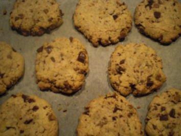 schoko cookies rezept mit bild. Black Bedroom Furniture Sets. Home Design Ideas