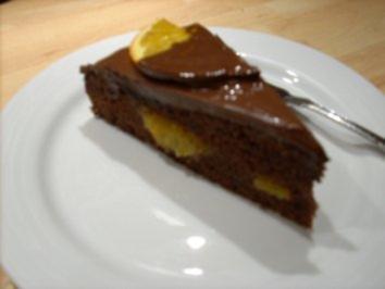schoko orangen torte rezept mit bild. Black Bedroom Furniture Sets. Home Design Ideas