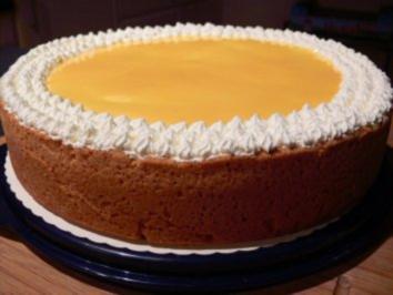 Kuchen: Crème-fraîche-Kuchen - Rezept