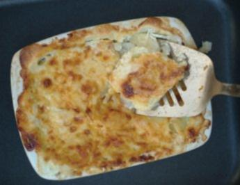 Rezept: Kartoffelgratin &quot;Lord Byron&quot;