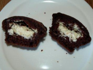 kuchen schoko frischk se muffins rezept. Black Bedroom Furniture Sets. Home Design Ideas
