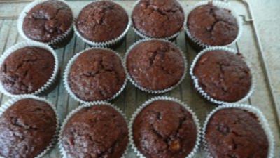 super fluffige muffins mit schokokern rezepte suchen. Black Bedroom Furniture Sets. Home Design Ideas