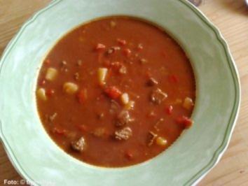 Ungarische gulaschsuppe rezept mit bild for Ungarische gulaschsuppe