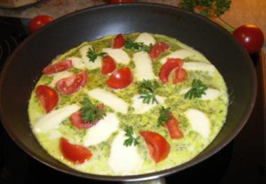 15 tomaten mozzarella omelett rezepte. Black Bedroom Furniture Sets. Home Design Ideas