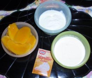 mango sahne joghurt eis rezept mit bild. Black Bedroom Furniture Sets. Home Design Ideas