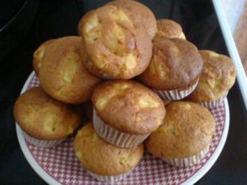 apfel muffin rezept mit bild. Black Bedroom Furniture Sets. Home Design Ideas