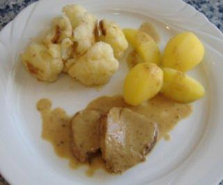 Kalbsrahmbraten