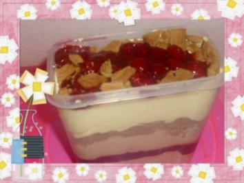 Cremiges Silvester-Trifle