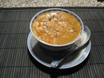 chinesische sauer scharf suppe rezept. Black Bedroom Furniture Sets. Home Design Ideas