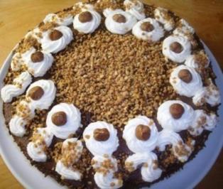 Rezept mit bild schoko nussnougatcreme torte