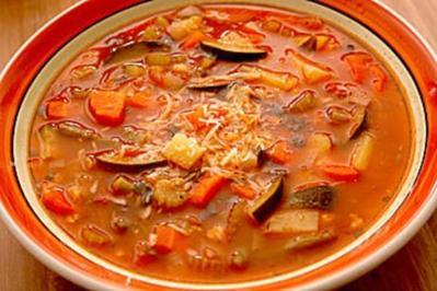 minestrone rezept davert