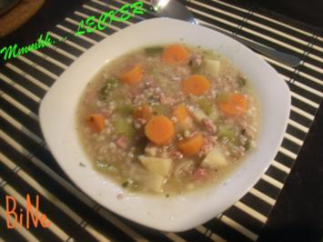 BiNe` S GRAUPENSUPPE