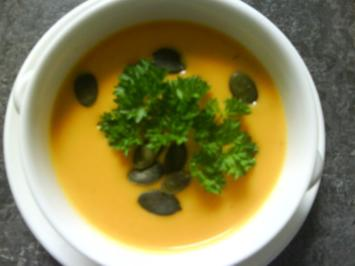 Karottencremesuppe