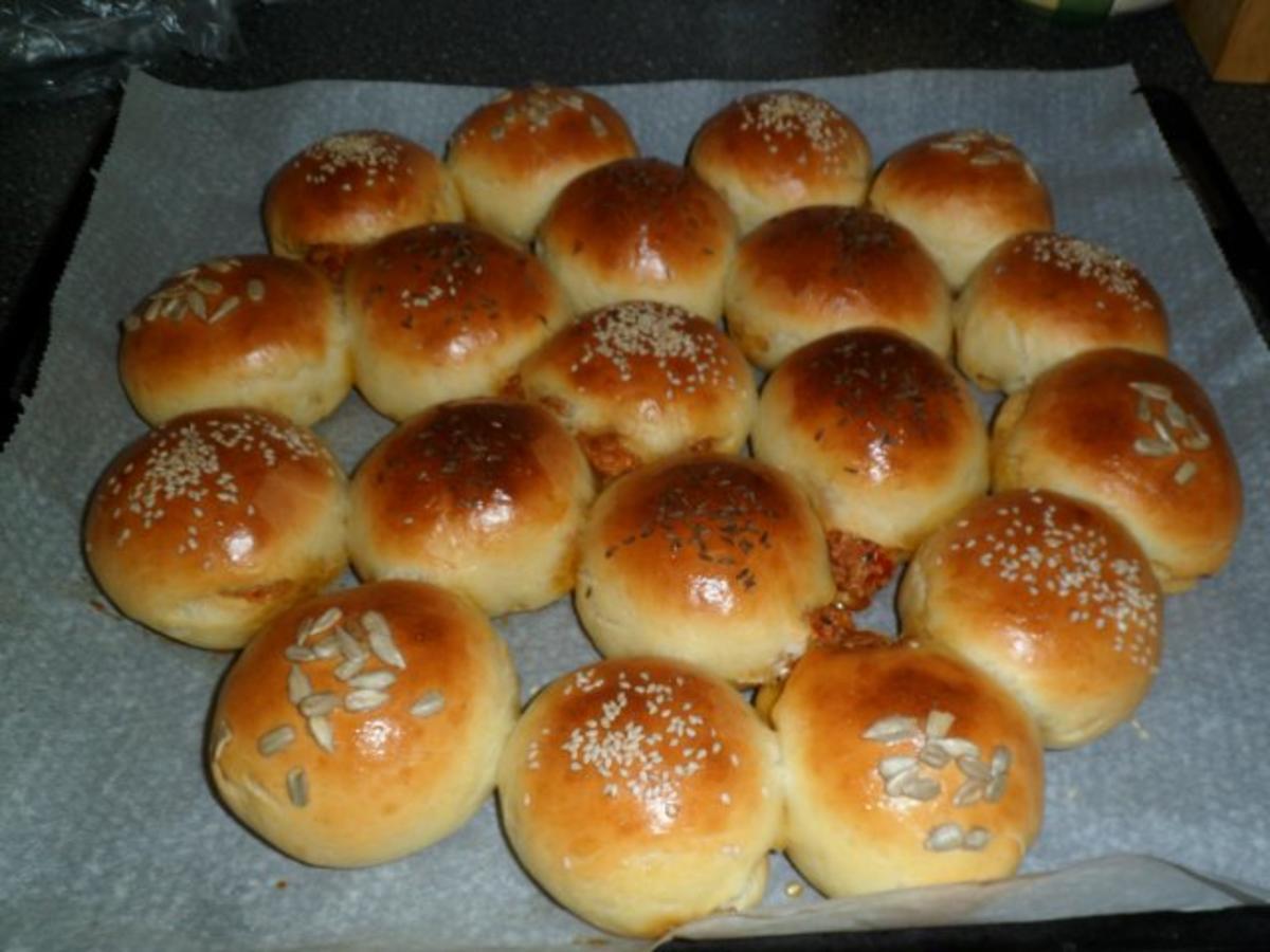 Gefülltes Party Brot (der KRACHER !)  Rezept  kochbarde