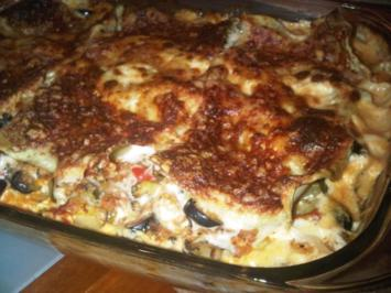 Mediterrane Gemse-Lasagne