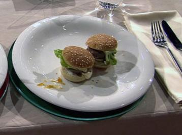 Mini-Hamburger à la Henssler