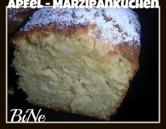 BiNe` S APFEL - MARZIPANKUCHEN