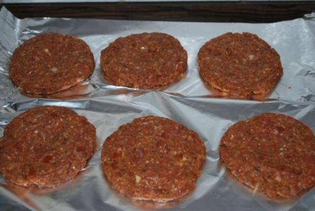 rezept hackfleisch patty variationen f r burger bild nr 3. Black Bedroom Furniture Sets. Home Design Ideas