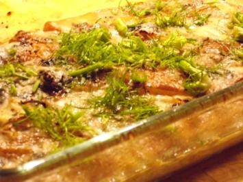 Fenchel-Birnen-Gratin