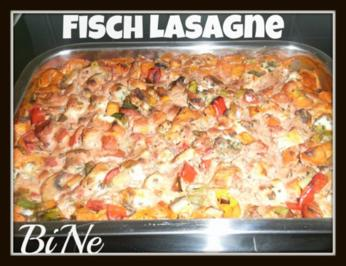 BiNe` S FISCHLASAGNE