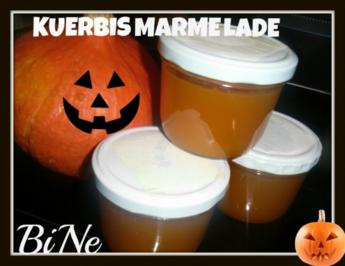 BiNe` S KUERBISMARMELADE