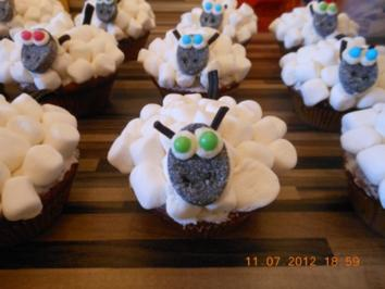 Rezept: Schaf Cupcake Bild Nr. 2