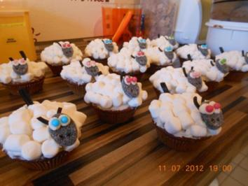 Rezept: Schaf Cupcake Bild Nr. 4