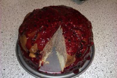 Blaubeer Marmorkuchen