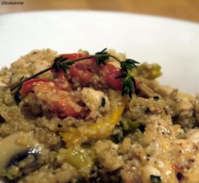 Hhnchen-Quinoa-Pfanne