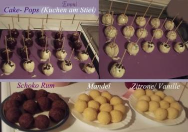 cake pops kuchen am stiel grundrezept f r backblech rezept. Black Bedroom Furniture Sets. Home Design Ideas
