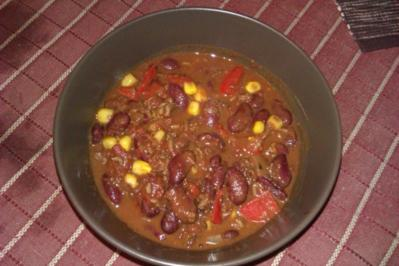 Chili con Carne mit dem gewissen Etwas