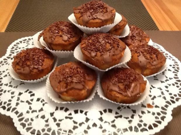rezept schoko birnen muffins. Black Bedroom Furniture Sets. Home Design Ideas