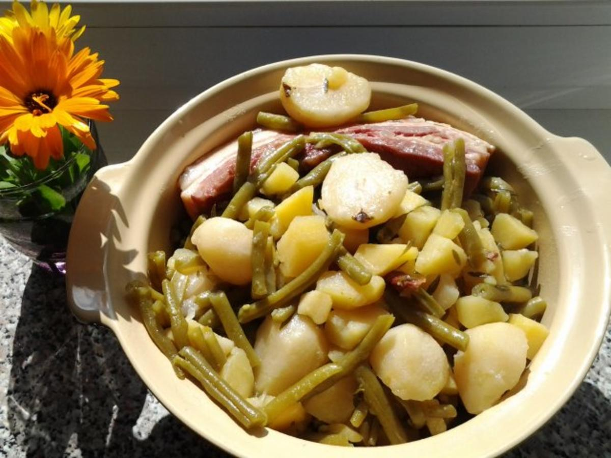 Bohnen Speck Birnen Birnen-bohnen-speck Rezept