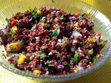 rezept roter quinoa salat. Black Bedroom Furniture Sets. Home Design Ideas