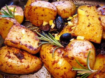 Ofenkartoffeln heute mal griechisch rezept for Griechisch kochen