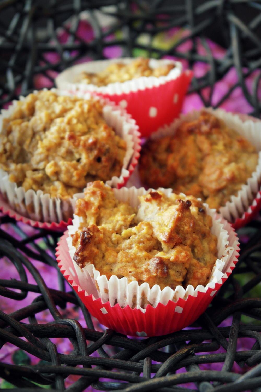 gesunde muesli muffins mit viel eiweiss und nuessen rezept bild nr. Black Bedroom Furniture Sets. Home Design Ideas