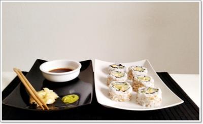 6 california roll sushi rezepte. Black Bedroom Furniture Sets. Home Design Ideas