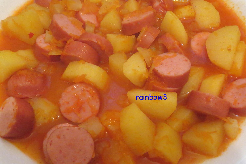 Kochen kartoffel gulasch mit w rstchen rezept for Kochen im sommer