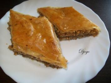 Baklava mit Haselnuss (genaue Beschreibung mit Bild)