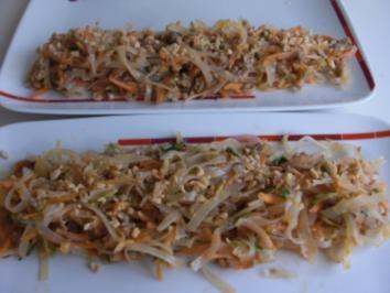 Rühren Sie verrückt frischen asiatischen Grill